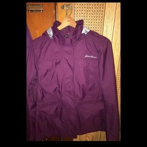 Eddie Bauer purple coat